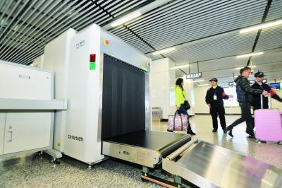 长沙地铁安检仪已进场 首批五个站点月底先启