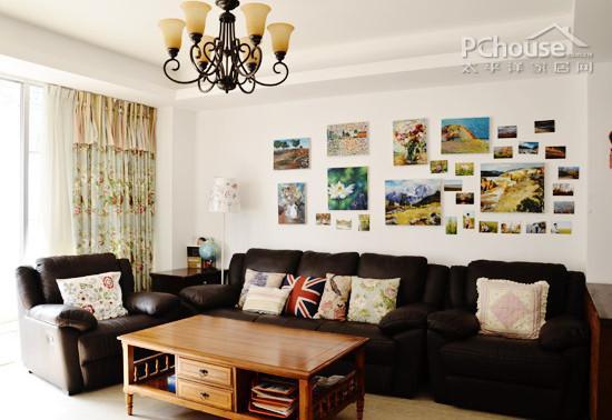 教你布置家居创意照片墙