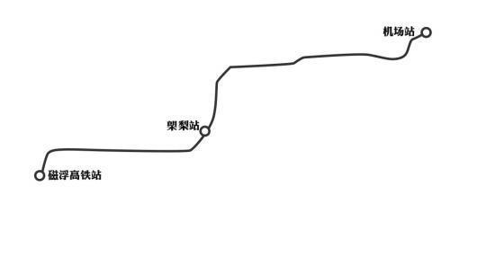长沙磁浮高铁站设多项便利设施 能办值机手续