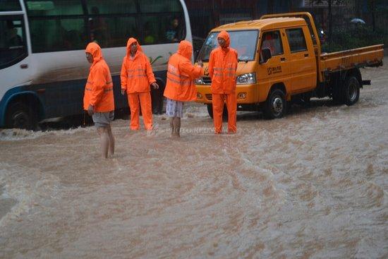 湖南暴雨致75万人受灾 直接经济损失2.45亿元