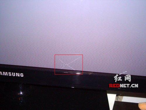 三星电视内屏蹊跷屏裂 用户要求换屏遭拒