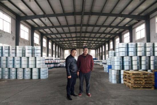 中都大宗总裁熊总在昌盛精细化工工厂参观考察
