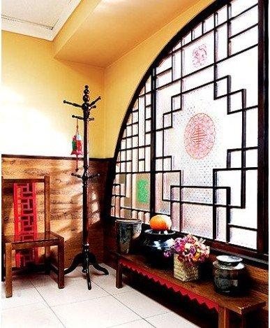 效果图:淳朴的装饰,粗犷大方的家具,明艳浓郁的色彩……这种乡村中式图片