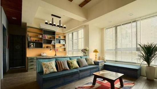 这个美式两居室  粗狂中带点野性太迷人