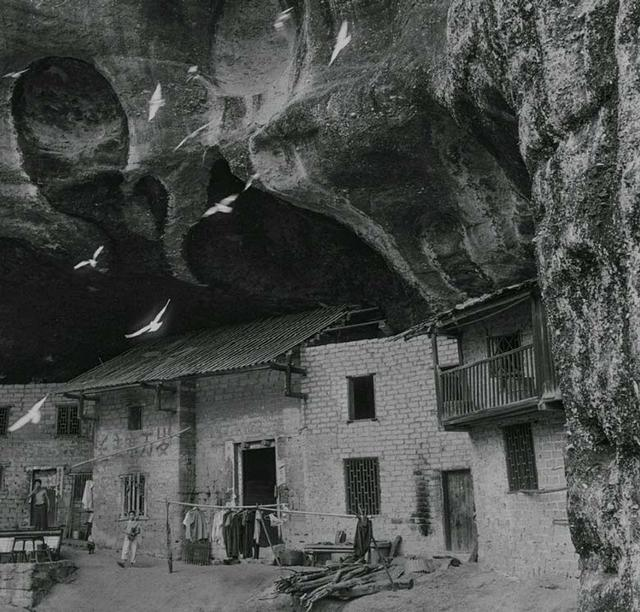 湖南最后的洞穴民居群落 如今只剩下一户人