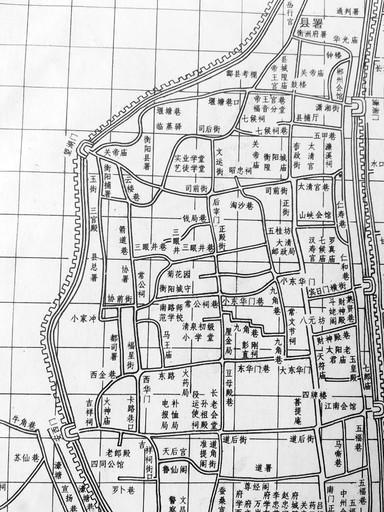 衡阳老地名之环城北路:明朝这里曾有环城古城墙