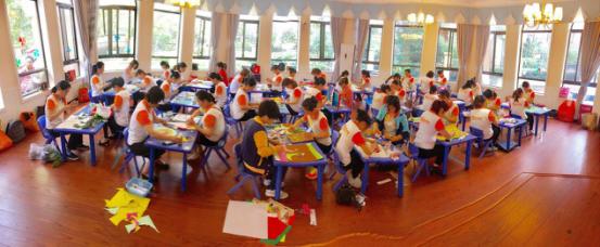 金色梯田幼儿园开展保育员技能比赛