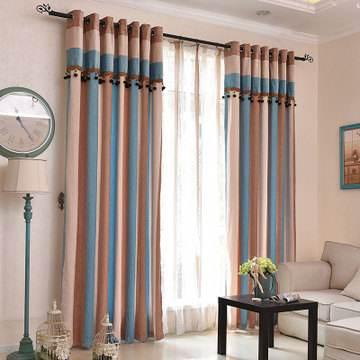 软装补救法 窗帘不仅美观还能掩饰房间缺点