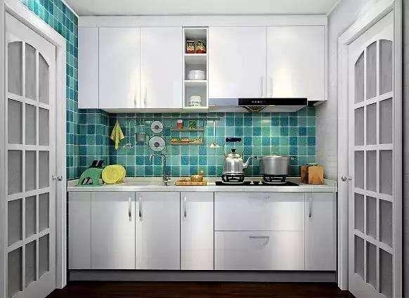 厨房设计改造的重点 嵌入式橱柜马赛克瓷砖好用吗