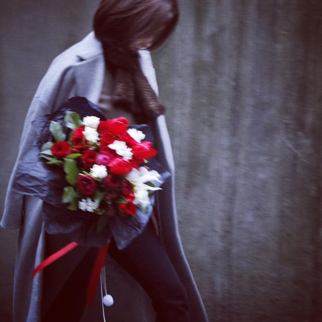 80后新疆美女长沙打拼16年  编织一个花艺的小梦想