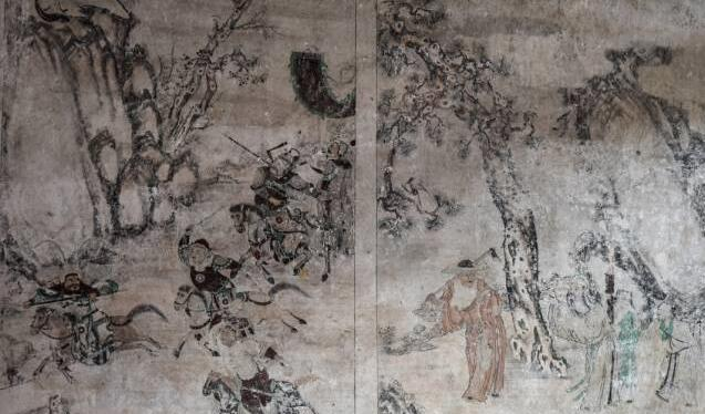 """郴州桂阳发现乾隆时期""""家礼家训""""壁画遗存"""
