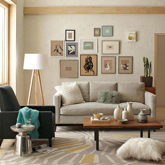 小空间舒适搭配很重要 下班回家都能身心愉悦