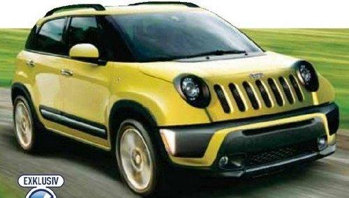 [海外车讯]Jeep小型SUV效果图 或明年投产