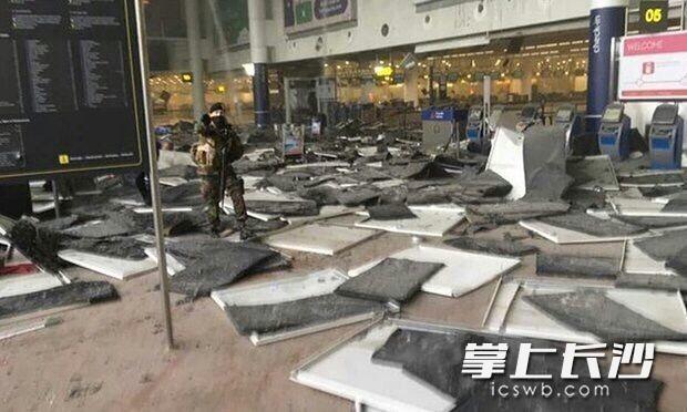 长沙妹子擦身比利时布鲁塞尔机场爆炸案