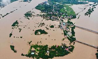 永州东安17个乡镇场受灾