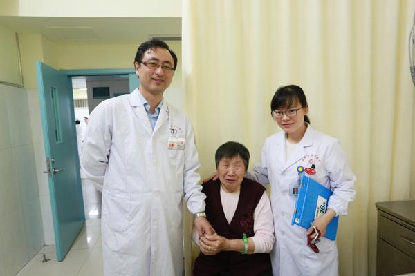 娄底市中心医院成功为八旬患者实施射频消融手术