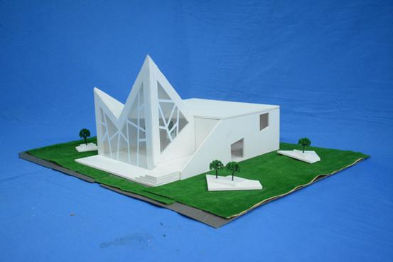 湖南软件职院举行建筑模型设计大赛