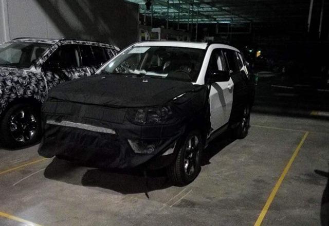 国产Jeep全新紧凑级SUV谍照再曝 尾灯出彩