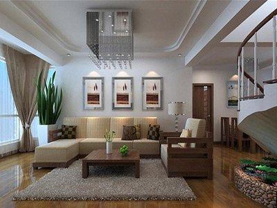 客厅摆放植物图片 打造好风水家居