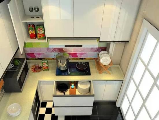 厨房空间不够敞亮?试一试这几招 把昏暗都赶走!