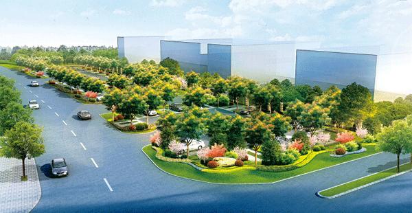 湘潭建首个生态停车场 停车场居然也可以这么美图片