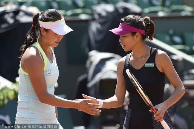 湖南伢彭帅夺法网女双冠军 获生涯第二个大满