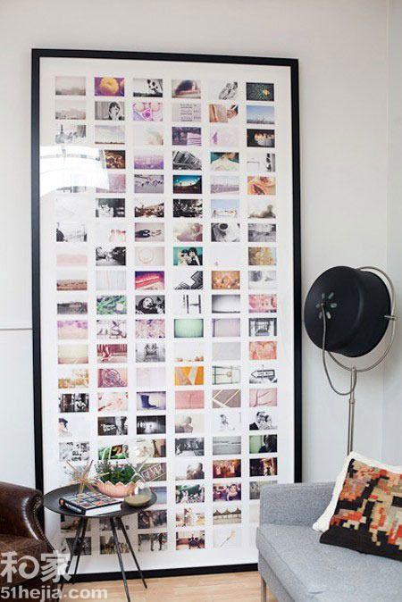 11个照片墙设计 看相框里珍藏的回忆