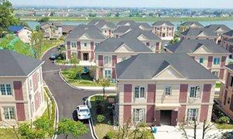 长沙望城区为受灾户建安置小区 每栋面积208平方米