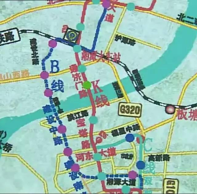 湘潭最新规划图
