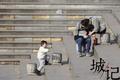 情人节撞上春节 情侣在长沙湘江风光带上秀恩爱