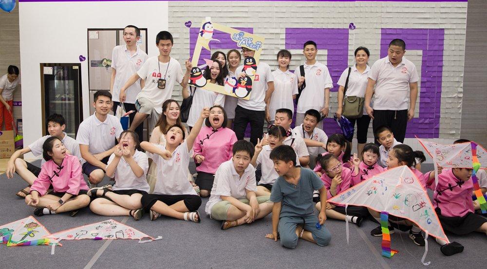 长沙150组爱心家庭为特殊儿童打CALL!