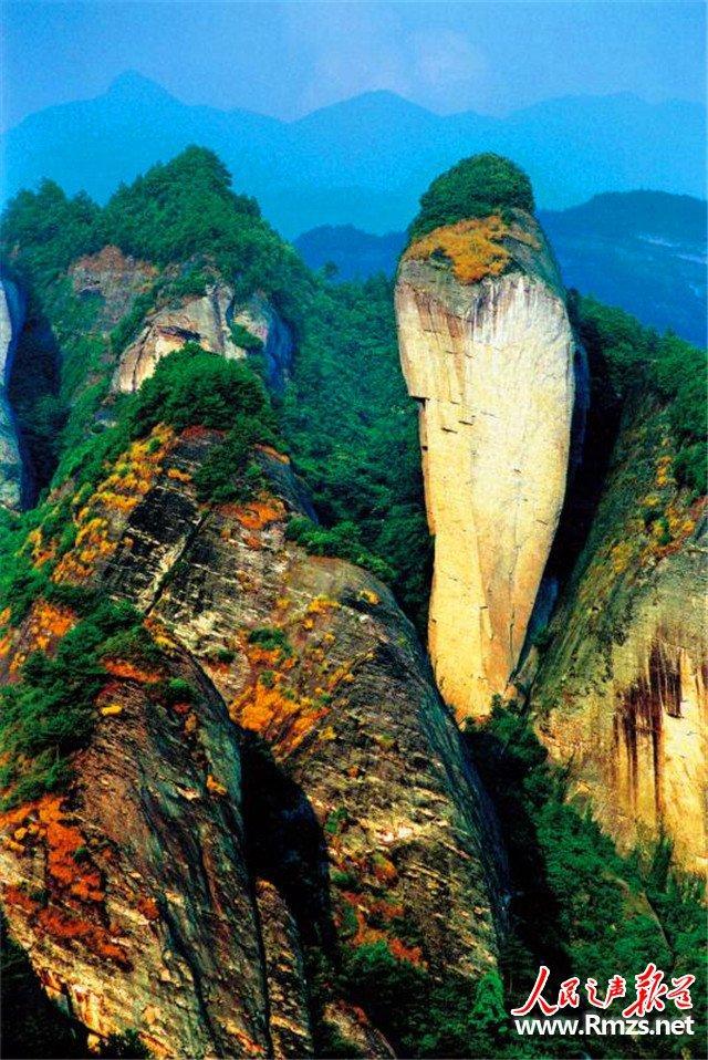 崀山:丹霞地貌造就奇石美景 以旅游助推脱贫