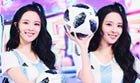 李莎�F子变身足球宝贝