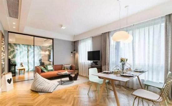 90m²两居室 开放型空间颜值功能双在线