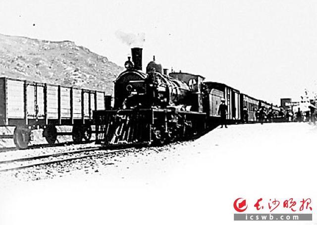 """""""火车来了"""" 百年前的照片带你看老长沙的铁轨"""