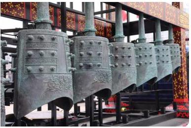 编钟是我国传统的礼乐重器,是中国古代社会国家声音的载体与象征.