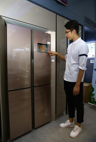 展位让给厨电 海尔冰箱依然是Leader