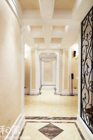 酒店欧式地面造型铺贴
