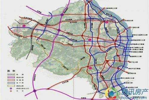 河西综合交通规划图