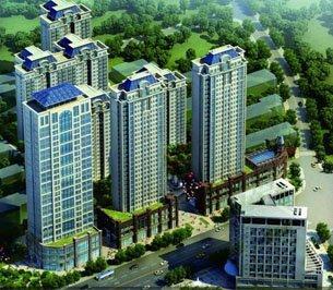 龙骧·华城 综合配套设施齐全的高档楼盘