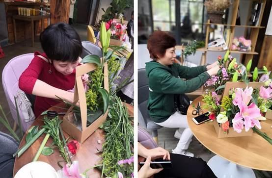 以花会邻 香满郦庭 郴州美美世界业主插花艺术交流日