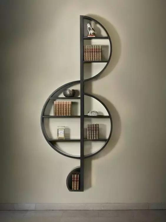米兰私享 书架也可以高颜值!