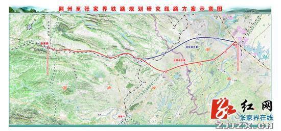 荆张高铁规划出炉 途经湖南四县市 图图片