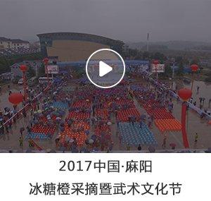 2017麻阳冰糖橙采摘暨武术文化节盛大开幕