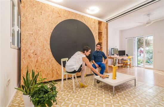 灵活设计百变空间小户型里休闲生活