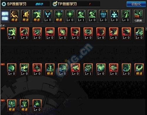 dnf黑暗武士技能排列图片