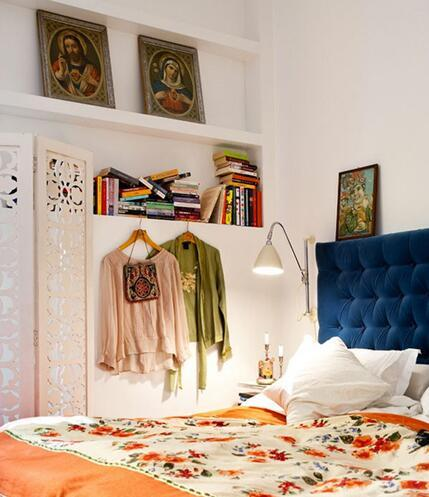 书房卧室一体化设计 让80后再次享受大学生活