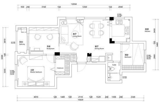 花尽心思巧设计 这套89平北欧婚房不冷淡
