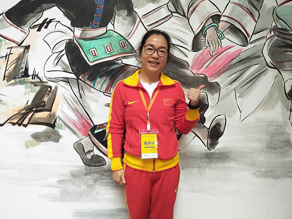 世界冠军廖素萍:想为江永体育与旅游发展尽力