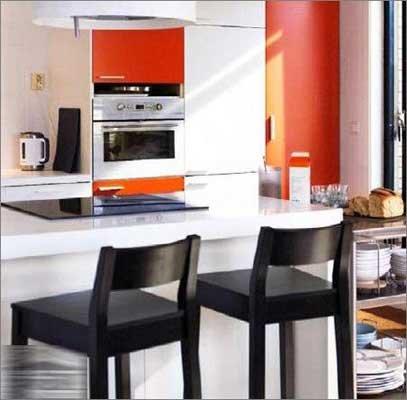 简约风格小户型厨房装修 达人教你省钱妙招高清图片